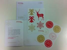 Driessen HRM – Kerststickers